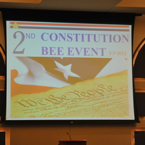 2nd Annual Constitution Bee